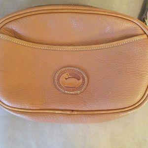 Vintage Dooney & Bourke Tan Leather Shoulder Bag
